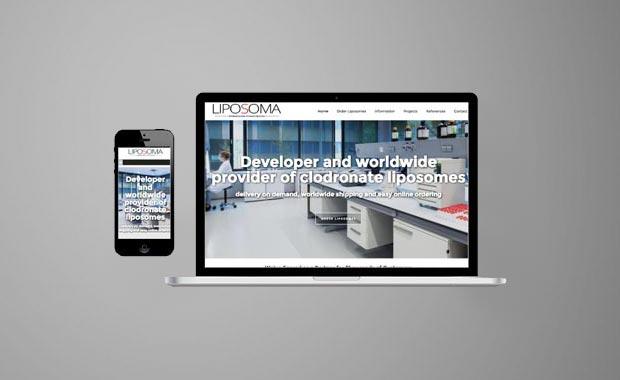 Website design voor ClodronateLiposomes.com