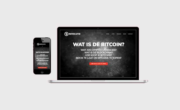 Bitcoinrevolutie.nl mockup